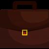bureau brussels - suitcase cartoon